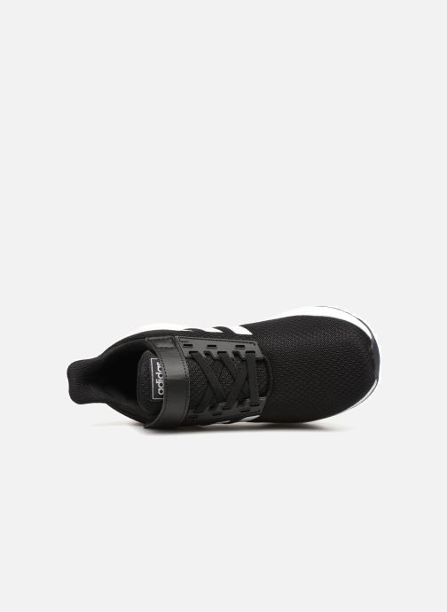 Sport shoes adidas performance Duramo 9 C Black view from the left