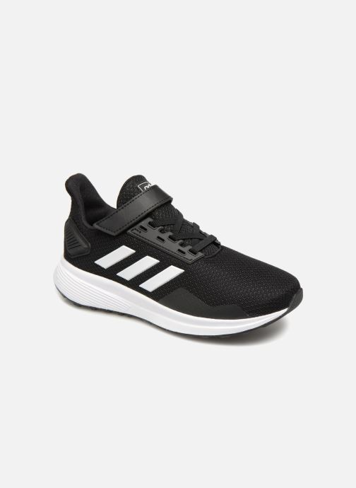 Sport shoes adidas performance Duramo 9 C Black detailed view/ Pair view
