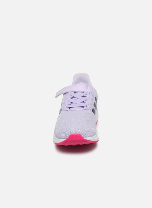 Chaussures de sport adidas performance Duramo 9 C Violet vue portées chaussures