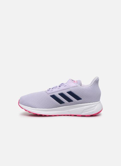 Chaussures de sport adidas performance Duramo 9 C Violet vue face