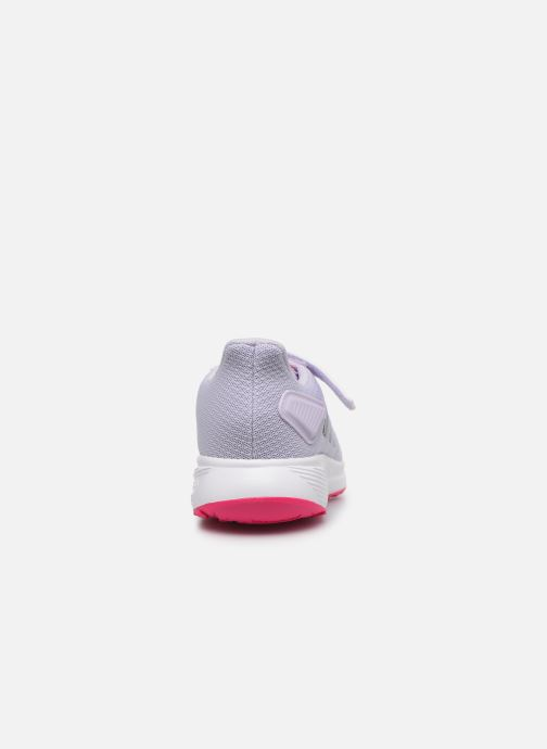 Chaussures de sport adidas performance Duramo 9 C Violet vue droite