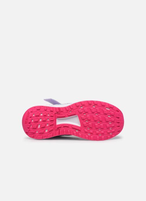 Chaussures de sport adidas performance Duramo 9 C Violet vue haut