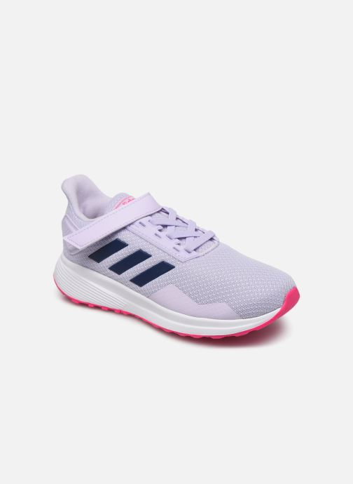 Sport shoes adidas performance Duramo 9 C Purple detailed view/ Pair view