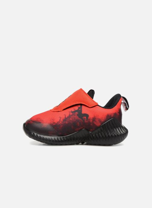 Baskets adidas performance Fortarun Spider-Man Ac I Rouge vue face