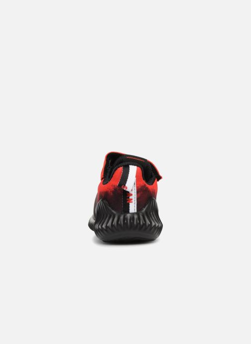 Trainers adidas performance Fortarun Spider-Man Ac I Red view from the right
