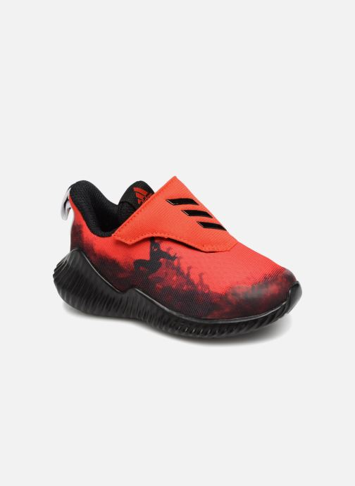 Trainers adidas performance Fortarun Spider-Man Ac I Red detailed view/ Pair view