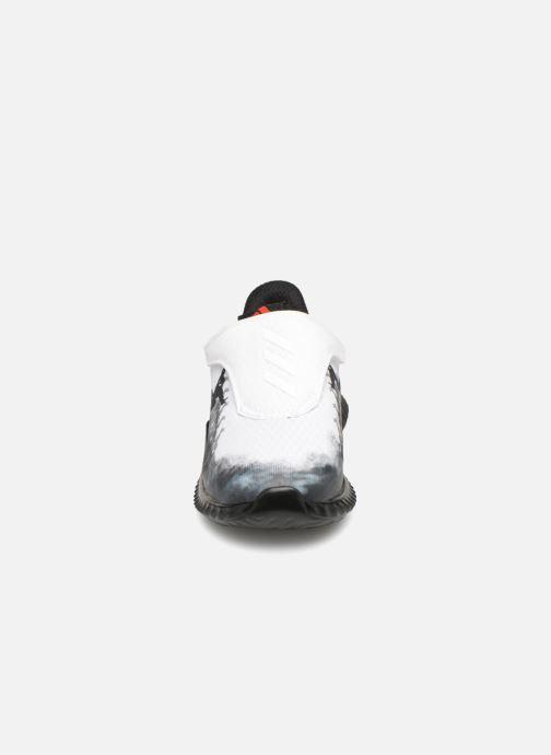 Baskets adidas performance Fortarun Spider-Man Ac I Blanc vue portées chaussures
