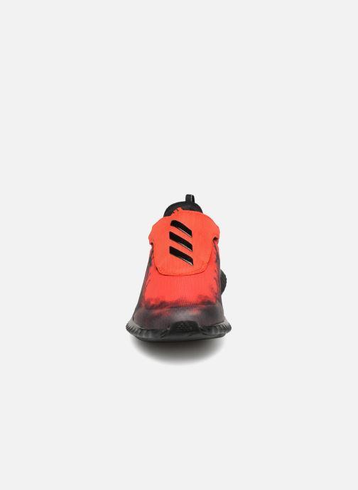 Baskets adidas performance Fortarun Spider-Man Ac K Rouge vue portées chaussures
