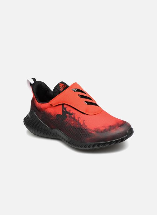 Baskets adidas performance Fortarun Spider-Man Ac K Rouge vue détail/paire