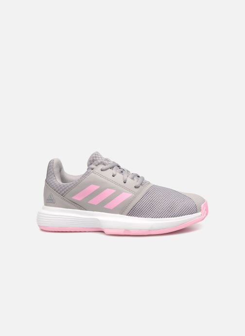 Sport shoes adidas performance Courtjam Xj Grey back view