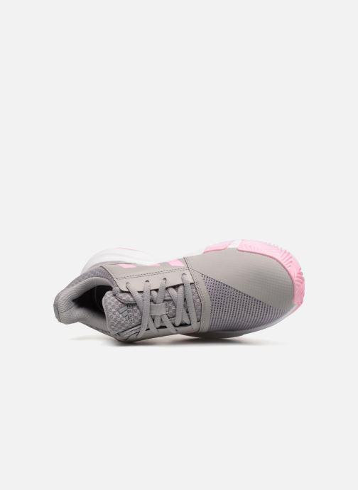 Scarpe sportive adidas performance Courtjam Xj Grigio immagine sinistra