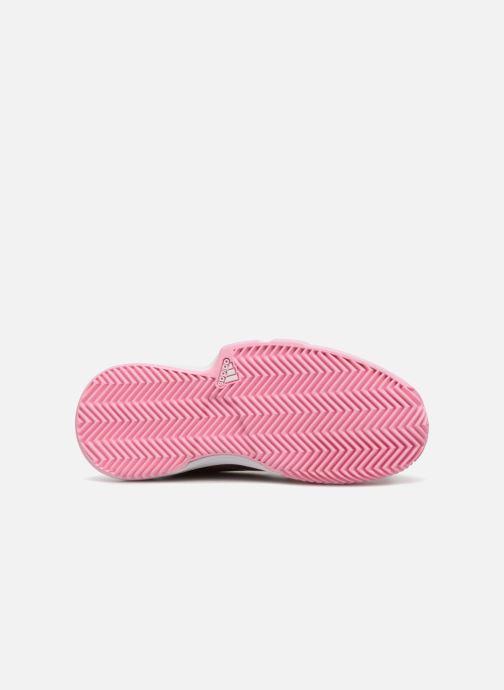 Scarpe sportive adidas performance Courtjam Xj Grigio immagine dall'alto
