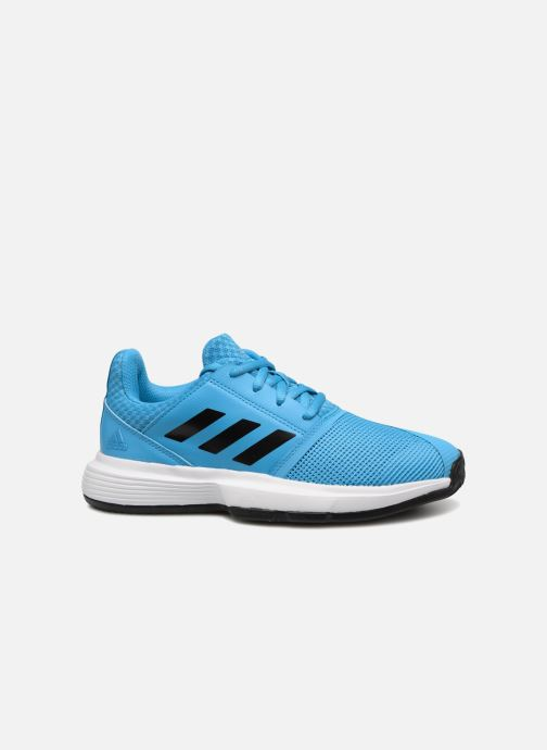 Sport shoes adidas performance Courtjam Xj Blue back view