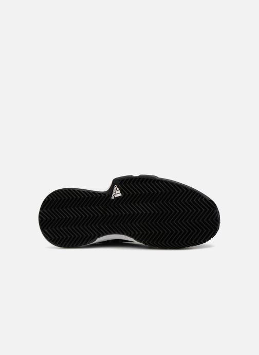 Chaussures de sport adidas performance Courtjam Xj Bleu vue haut