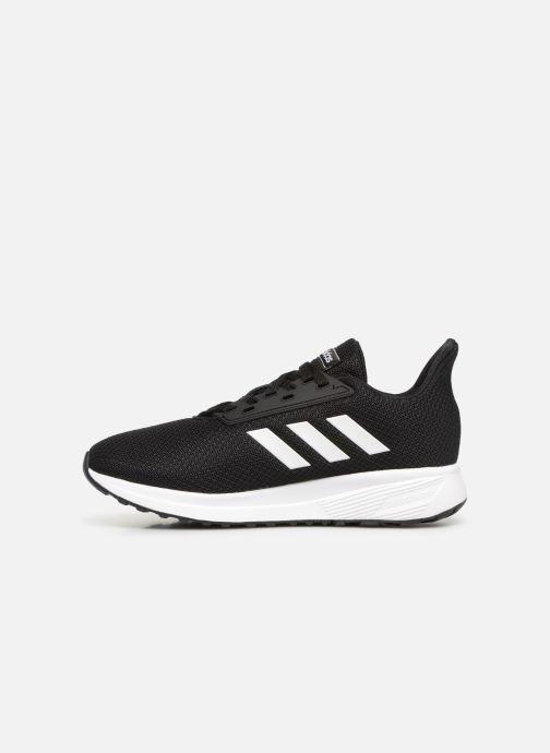 Chaussures de sport adidas performance Duramo 9 K Noir vue face
