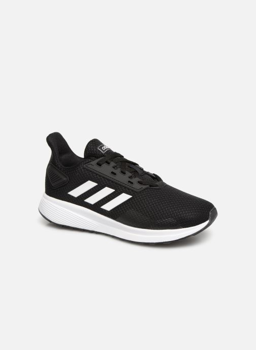 Sport shoes Adidas Performance Duramo 9 K Black detailed view  Pair view 77efa1c6457