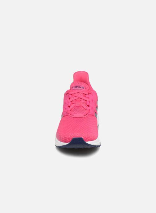Chaussures de sport adidas performance Duramo 9 K Rose vue portées chaussures