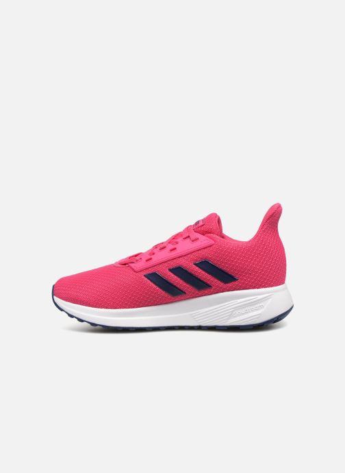Chaussures de sport adidas performance Duramo 9 K Rose vue face