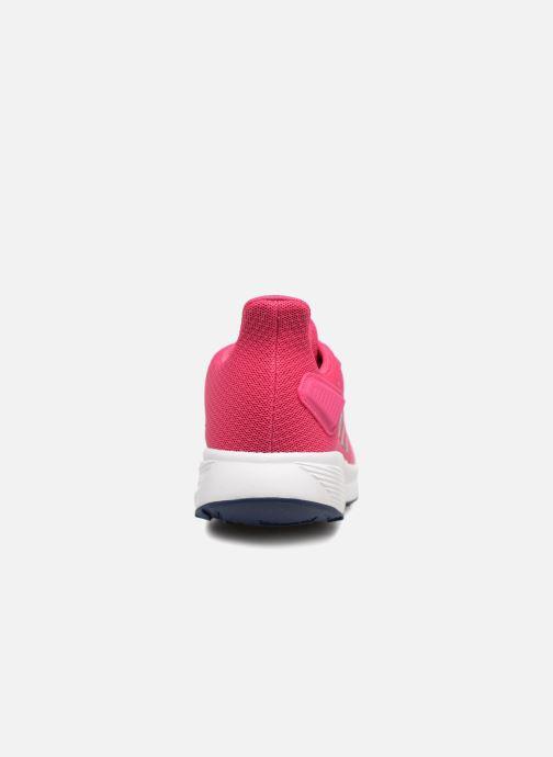 Chaussures de sport adidas performance Duramo 9 K Rose vue droite