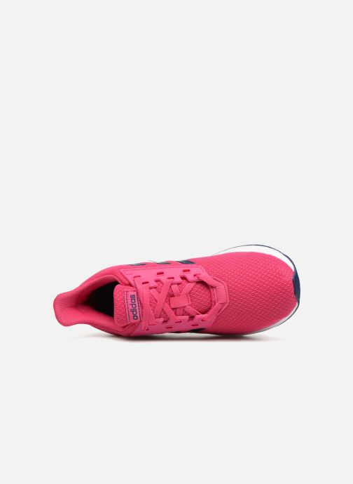 Chaussures de sport adidas performance Duramo 9 K Rose vue gauche