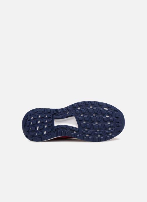 Chaussures de sport adidas performance Duramo 9 K Rose vue haut