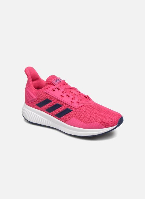 Chaussures de sport adidas performance Duramo 9 K Rose vue détail/paire