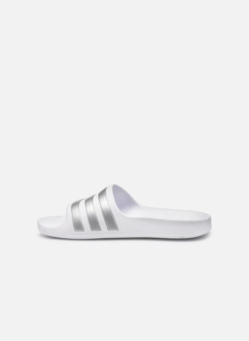 Sandales et nu-pieds adidas performance Adilette Aqua K Blanc vue face