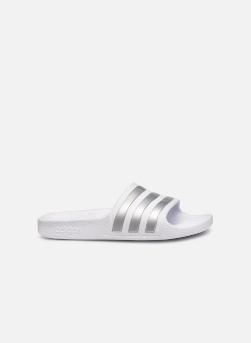 Sandales et nu-pieds adidas performance Adilette Aqua K Blanc vue derrière