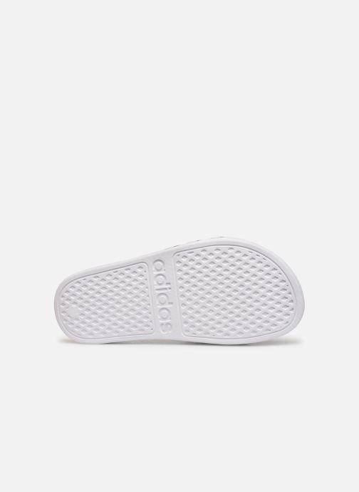 Sandalen adidas performance Adilette Aqua K Wit boven