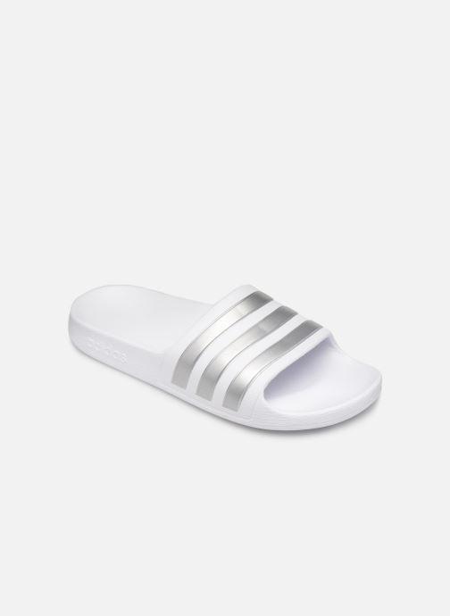 Sandales et nu-pieds adidas performance Adilette Aqua K Blanc vue détail/paire
