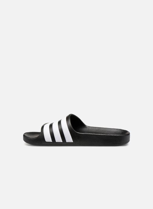 Sandals adidas performance Adilette Aqua K Black front view
