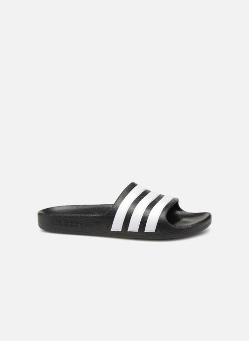 Sandalen adidas performance Adilette Aqua K Zwart achterkant