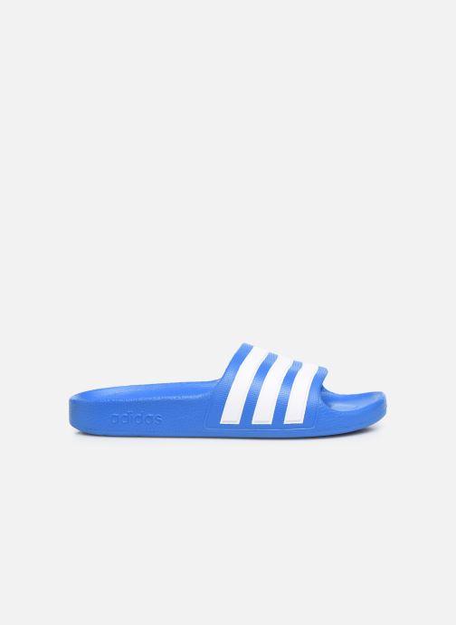 Sandales et nu-pieds adidas performance Adilette Aqua K Bleu vue derrière