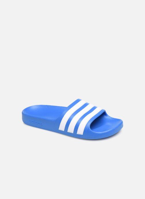Sandales et nu-pieds adidas performance Adilette Aqua K Bleu vue détail/paire