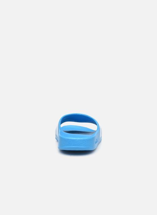Sandali e scarpe aperte adidas performance Adilette Aqua K Azzurro immagine destra
