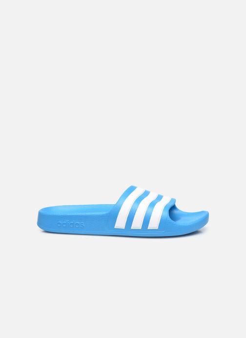 Sandali e scarpe aperte adidas performance Adilette Aqua K Azzurro immagine posteriore