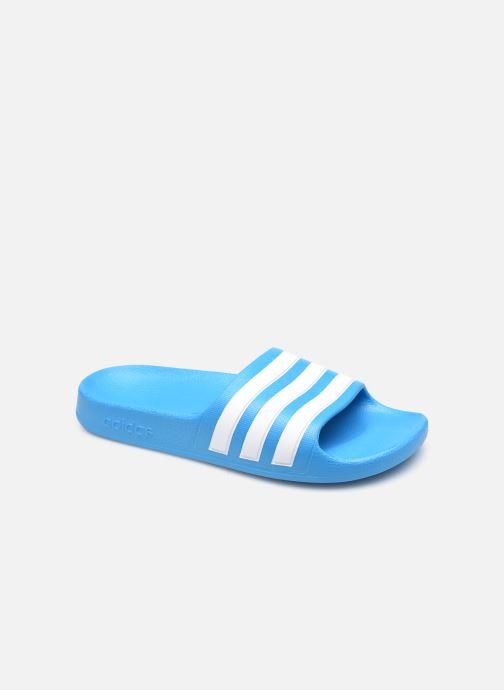 Sandalias adidas performance Adilette Aqua K Azul vista de detalle / par