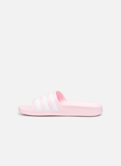 Sandales et nu-pieds adidas performance Adilette Aqua K Rose vue face