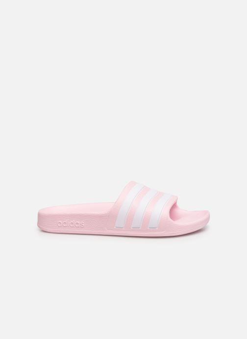Sandales et nu-pieds adidas performance Adilette Aqua K Rose vue derrière