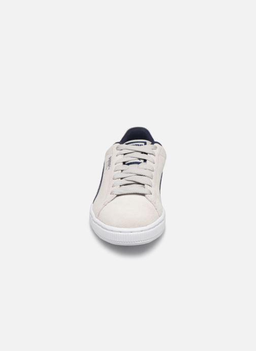 Baskets Puma Suede Classic DNM Beige vue portées chaussures