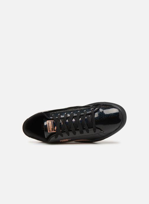 Sneaker Puma Basket Mirror schwarz ansicht von links