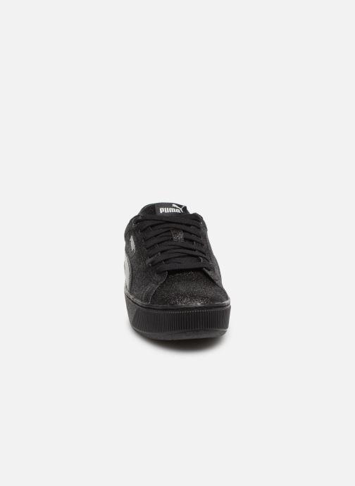 Baskets Puma Vikky Platform Glitz Noir vue portées chaussures