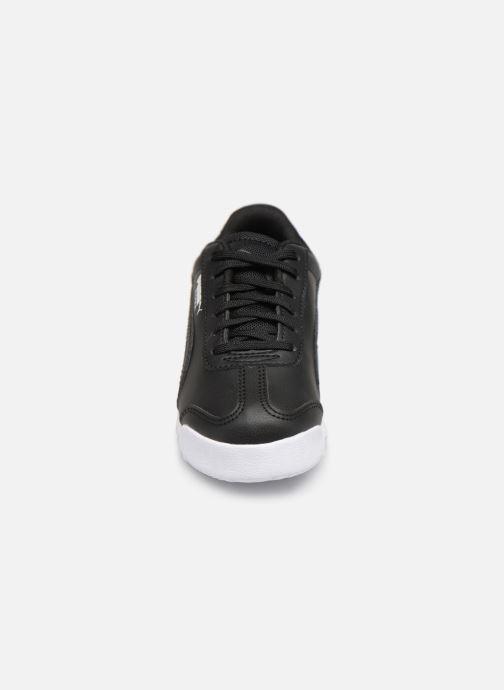 Sneaker Puma BMW MMS Roma schwarz schuhe getragen
