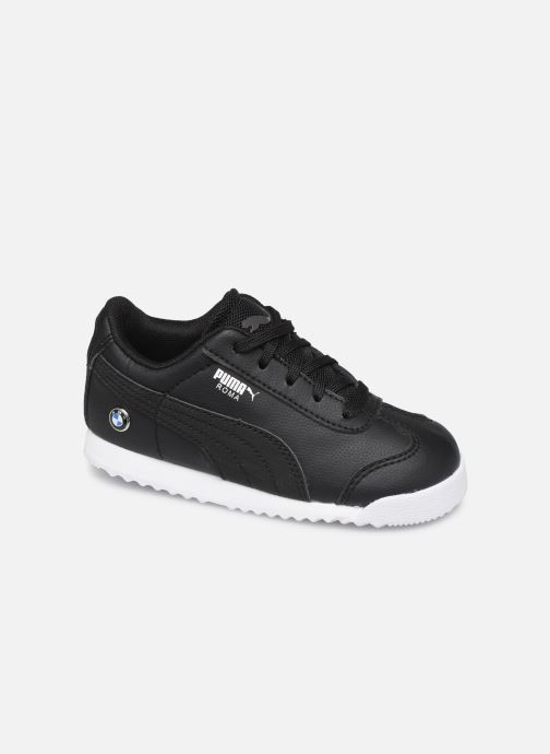 Trainers Puma BMW MMS Roma Black detailed view/ Pair view