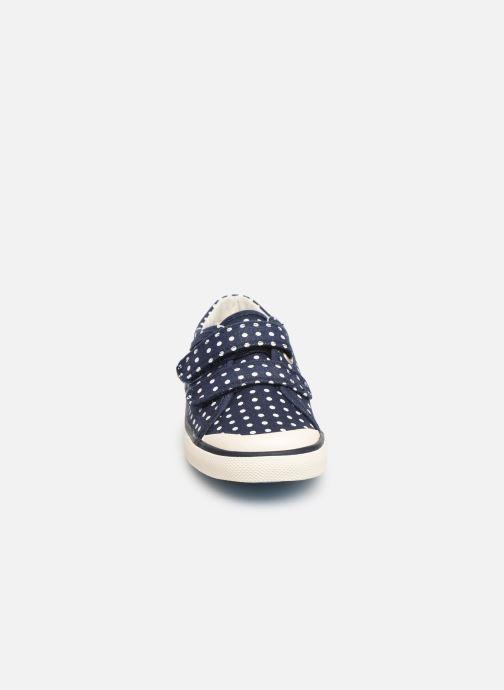 Baskets Start Rite Bounce Bleu vue portées chaussures