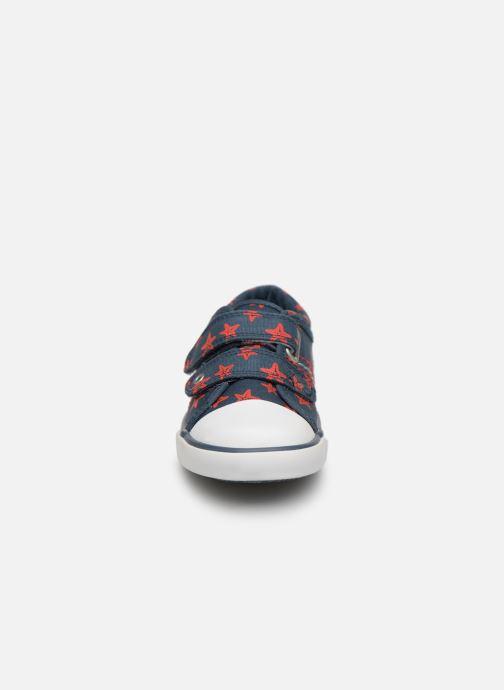 Baskets Start Rite Zip Bleu vue portées chaussures