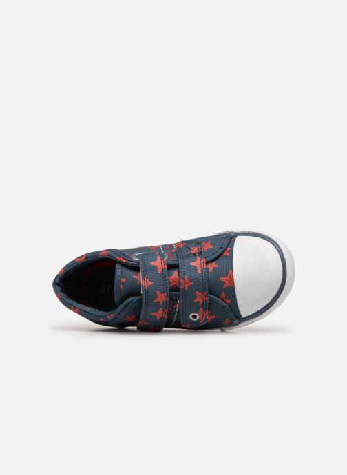 Sneakers Start Rite Zip Blauw links