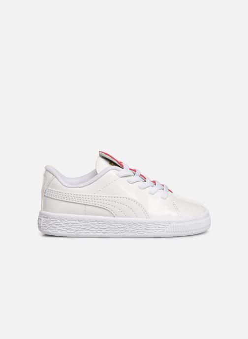 Sneakers Puma Crush Patent Vit bild från baksidan