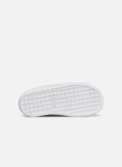 Baskets Puma Crush Patent Blanc vue haut