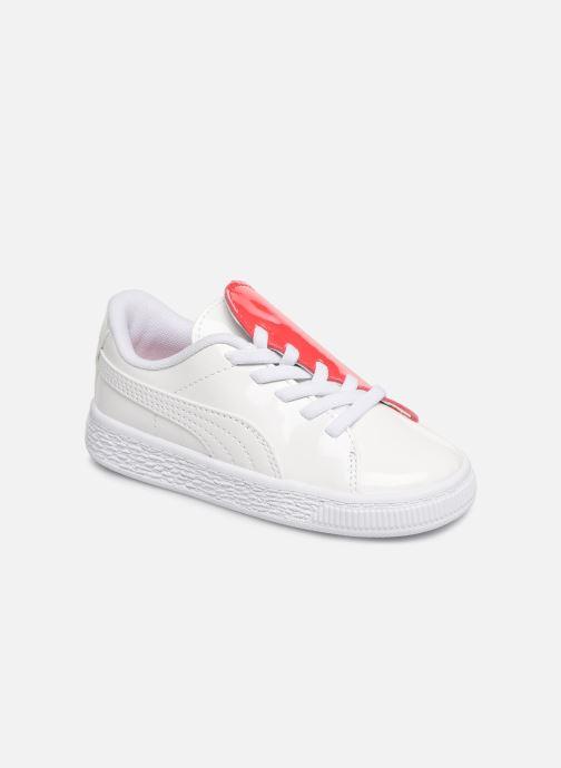 Sneakers Puma Crush Patent Vit detaljerad bild på paret